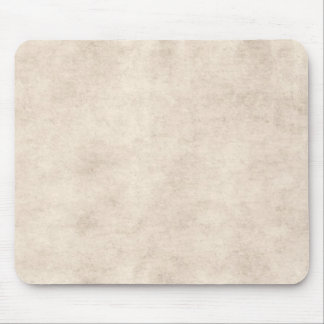 Light Vintage Parchment Antique Paper Background Mouse Mat