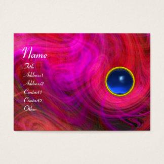 LIGHT VORTEX BLUE SAPPHIRE  purple red yellow Business Card