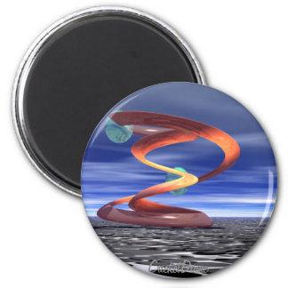 :Light Wave 5: Designer Products by CricketDiane 6 Cm Round Magnet