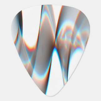 Light Wave Pattern Guitar Pick