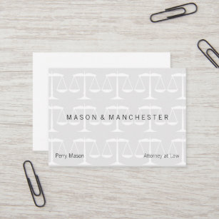 Watermark business cards business card printing zazzle uk light white watermark style scales of justice business card colourmoves