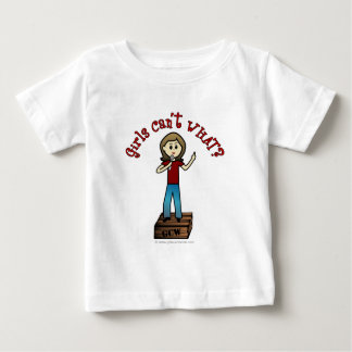 Light Woman on Soapbox Baby T-Shirt