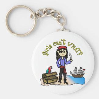 Light Woman Pirate Keychains