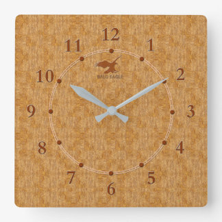 Light Wood Decorative 5-c Modern Wall Clock Sale