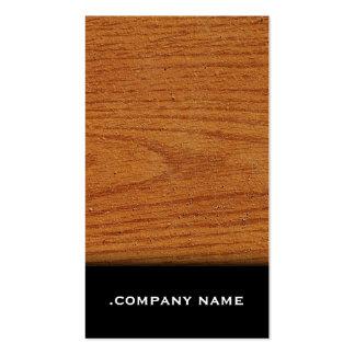 Light Wood - Elegant Business Card