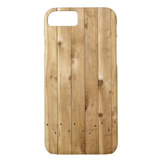 LIGHT WOOD FENCE iPhone 7 CASE