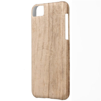 Light Wood Grain Cover iPhone 5 Case