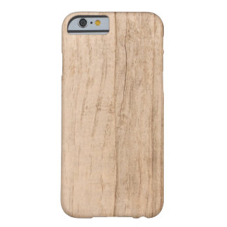 Light Wood Grain Cover iPhone 6 case Barely There iPhone 6 Case