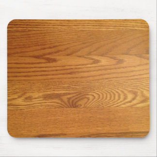 Light wood Grain Design Mouse Mat
