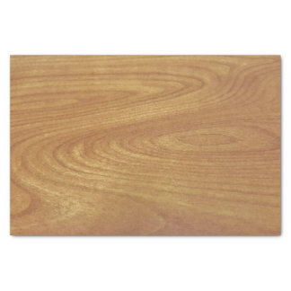 Light wood grain tissue paper