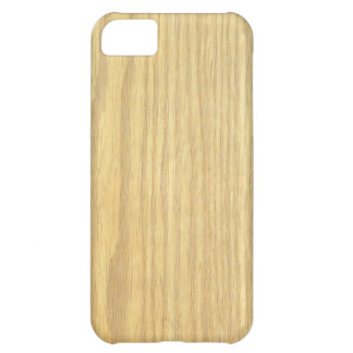 Light Wood Grain Veneer iPhone 5C Case