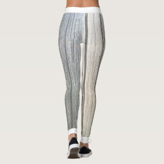 Light Wood Texture Leggings