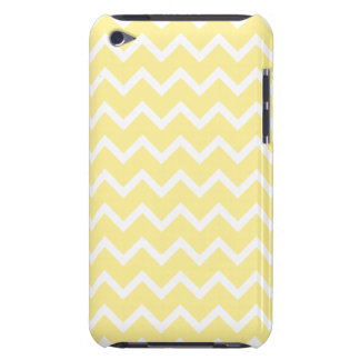 Light Yellow and White Zigzags. iPod Touch Covers