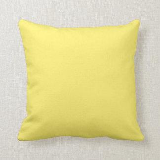 """Light Yellow"" Cushion"