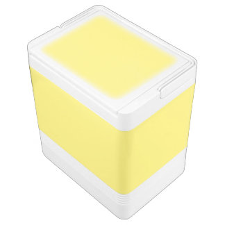 Light Yellow Igloo Cool Box