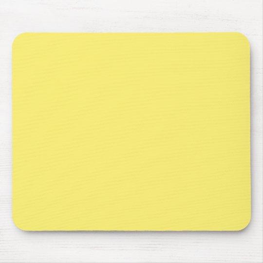 """Light Yellow"" Mouse Pad"