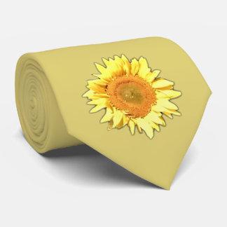 Light Yellow Sunflower Tie