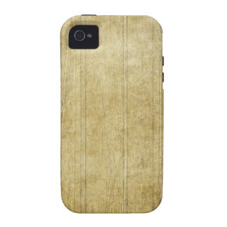 Light Yellow Wood iPhone 4/4S Cover