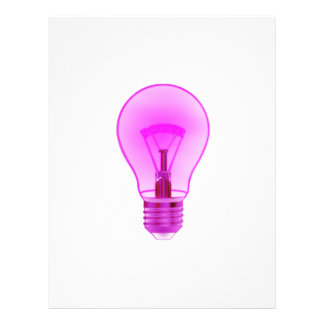lightbulb glowing purple power filament png flyer