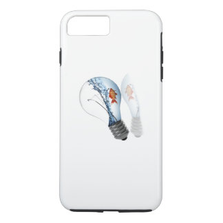 Lightbulb Goldfish Tank iPhone 8 Plus/7 Plus Case