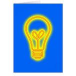 Lightbulb Greeting Card