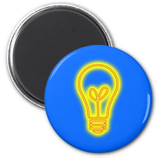 Lightbulb Magnet