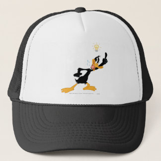 Lightbulb over DAFFY DUCK™'s Head Trucker Hat