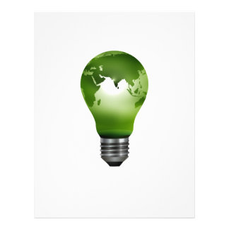 lightbulb planet globe design eco png personalized flyer