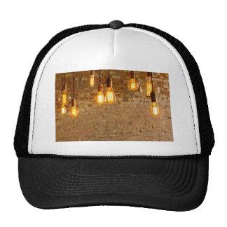Lightbulbs Background Cap