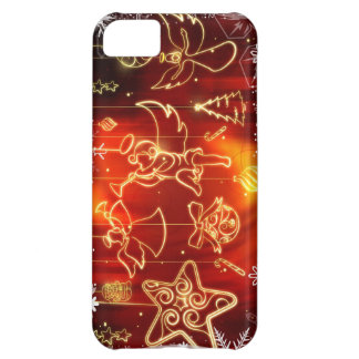 Lighted Christmas Ornaments (star, Angel) etc. iPhone 5C Case