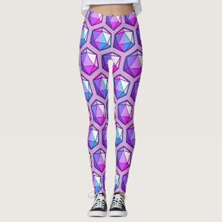 Lighted D20 Leggings