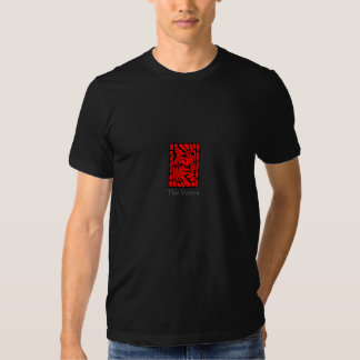 Lighted Red Stained Glass Window T Shirts