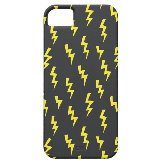 lightening bolts barely there iPhone 5 case