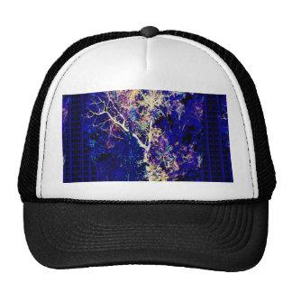 Lightening Thunderbolt TREE Sparkle Elegant Design Hat