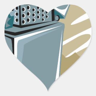 Lighter Heart Sticker