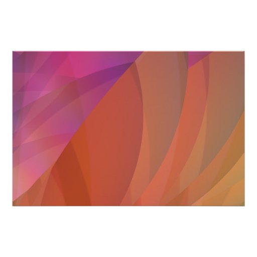 Lighthearted Abstract Art Print