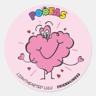 Lighthearted Lulu Sticker (pack of 6)