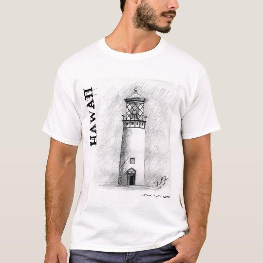 LighthoouseDarkHighRes.0001, HAWAII, John I. Jones T-Shirt
