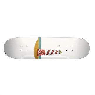Lighthouse 18.1 Cm Old School Skateboard Deck