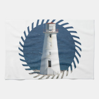 lighthouse-3 hand towels