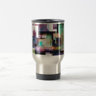 Lighthouse Abstract Stainless Steel Travel Mug
