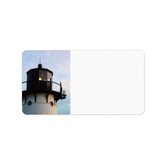Lighthouse Address Label