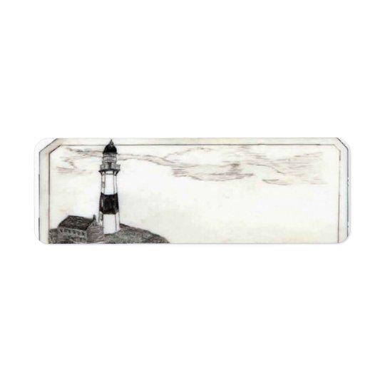 Lighthouse Address Label, Small Return Address Label
