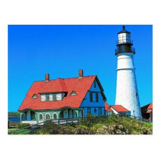 Lighthouse Art 16 Postcard