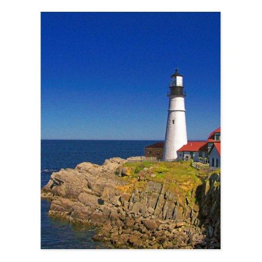 Lighthouse Art 7 Postcards