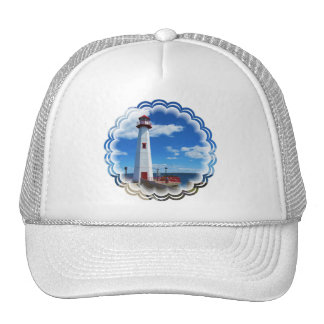 Lighthouse Art Baseball Hat