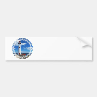 Lighthouse Art Bumper Stickers