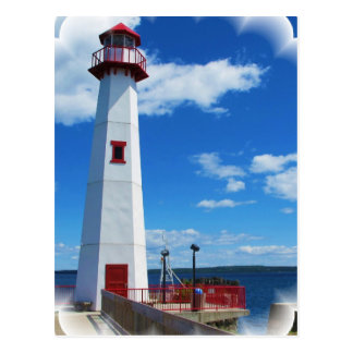 Lighthouse Art Postcard