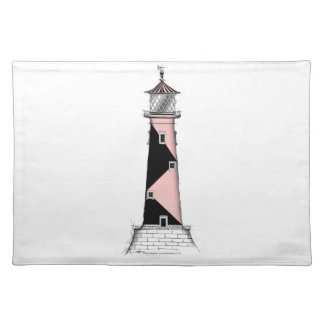 lighthouse art print 7, tony fernandes placemat