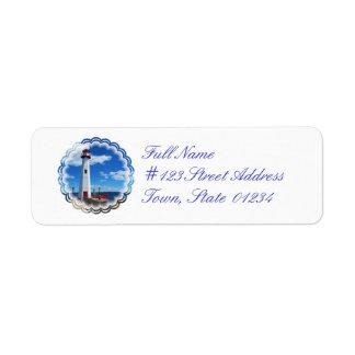 Lighthouse Art Return Address Mailing Label Return Address Label